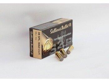 Amunicja .38 Special S&B WAD CUTTER 9.6g/148gr (50 szt.)