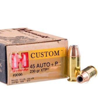 Amunicja .45 Auto Hornady XTP +P 14,9g/230gr (20 szt)