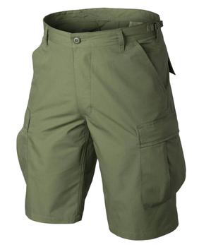 Krótkie Spodnie Helikon BDU Rip-Stop - Olive Green - OUTLET