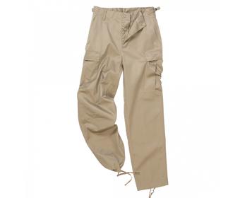 Spodnie BDU Mil-Tec beżowe rozmiar XL - OUTLET