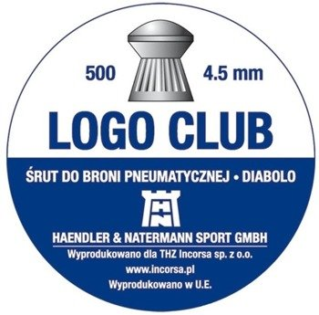 Śrut 4,5 H&N Logo Club (500 szt.)