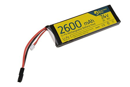 Akumulator Li-Po 11,1V 2600mAh 25/50C Electro River