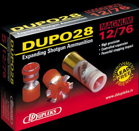 Amunicja 12/76 Dupleks Magnum Dupo 28g (5 szt.)