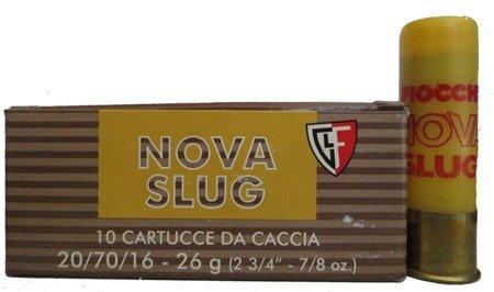 Amunicja 20/70 Breneka Fiocchi Nova Slug 26g (10 szt.)