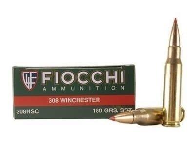 Amunicja .308 Win Fiocchi SST 11,66g/180gr (20 szt.)