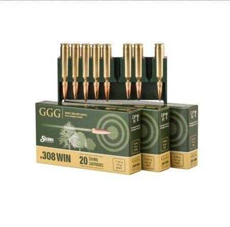 Amunicja .308 Win GGG HPBT 10,89g/168gr (20 szt.)