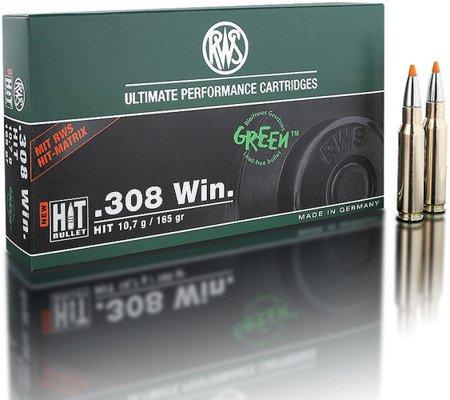 Amunicja .308 Win RWS HIT 10,7g/165gr (20 szt.)