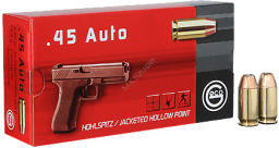 Amunicja .45 ACP Geco JHP 14.9g/230gr (50 szt.)