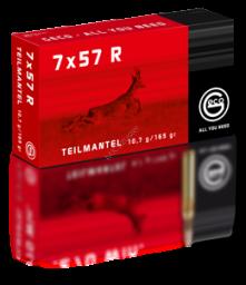 Amunicja 7x57R GECO Teilmantel 10.7g/165gr (20 szt.)