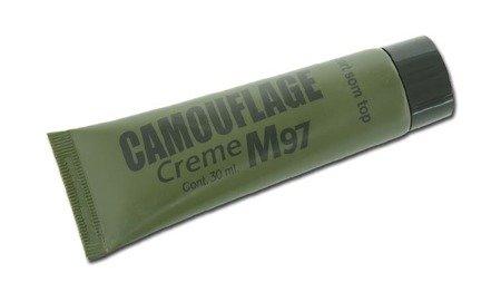 Farba Maskująca Kemex NATO M97 Camouflage Creme 30 ml - Czarny