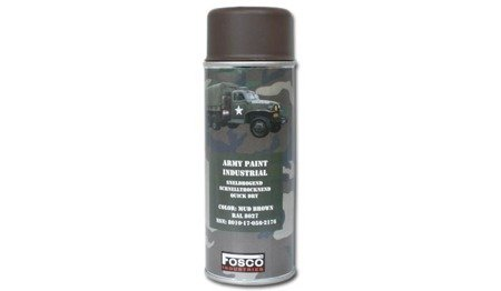 Farba do maskowania broni - Mud Brown - RAL 8027 - Fosco