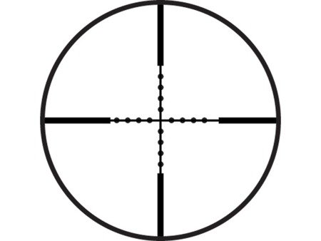 Luneta celownicza Vogler 3-9x40 MilDot + montaż