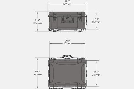 NANUK 950 DJI™ RONIN-M Pomarańczowy