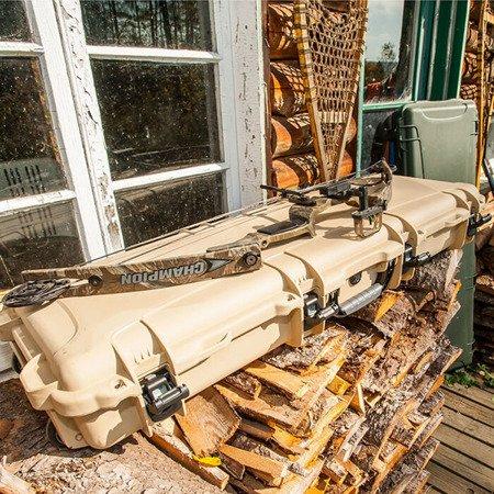 Skrzynia transportowa Nanuk 995 Oliwkowa - pianka dociskowa FALA