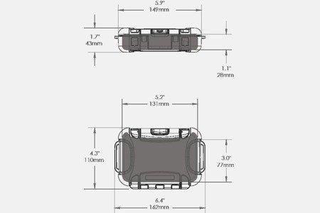 Skrzynia transportowa Nanuk Nano 310 czarna