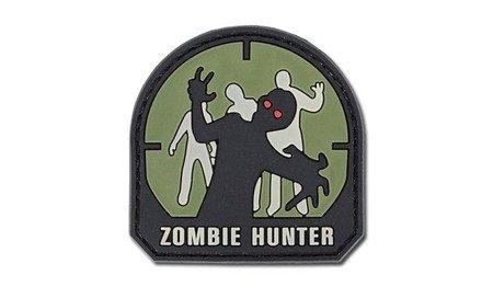 Naszywka Zombie Hunter - zielona