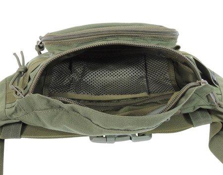 Nerka - torba biodrowa Gekon Wisport Black