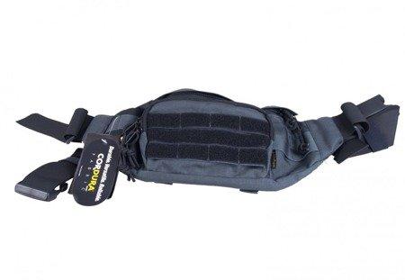 Nerka - torba biodrowa Gekon Wisport Graphite