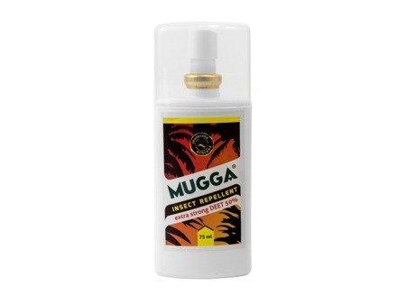 Repelent - środek na owady Mugga spray 75 ml (DEET 50%)