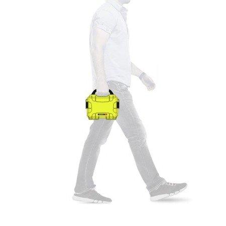 Skrzynia transportowa Nanuk 903 limonkowa - bez wypełnienia