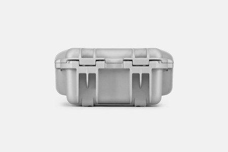 Skrzynia transportowa Nanuk 905 srebrna - bez wypełnienia