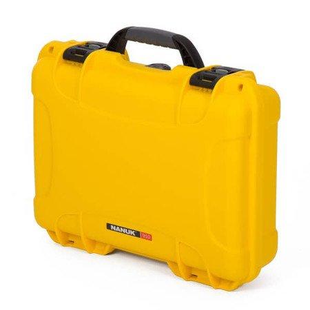 Skrzynia transportowa Nanuk 910 żółta - bez wypełnienia