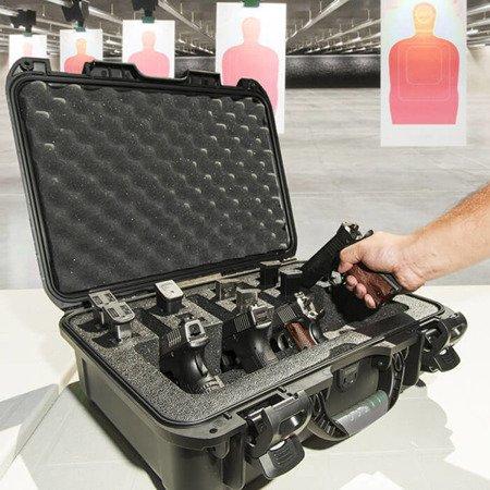 Skrzynia transportowa Nanuk 925 grafitowa - 4UP Pistol