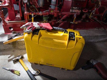 Skrzynia transportowa Nanuk 933 żółta - bez wypełnienia