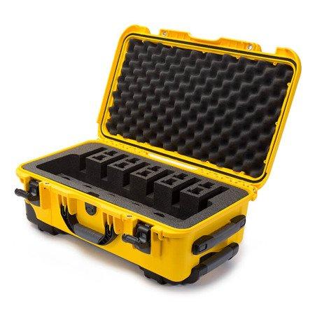 Skrzynia transportowa Nanuk 935 żółta - 6UP PISTOL