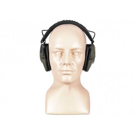 Słuchawki RealHunter Active ProSHOT BT oliwkowe